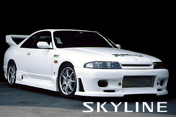 1993-1998 SKYLINE R33 JUN STYLE FRONT BAR